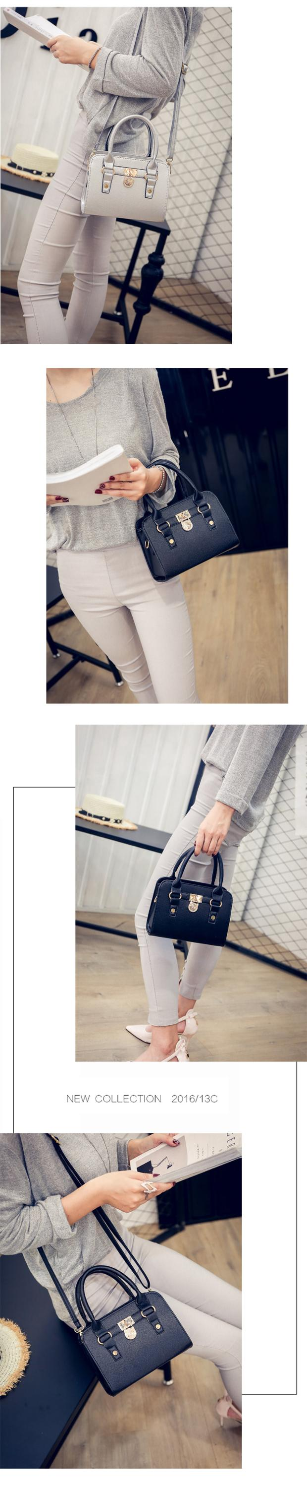Fashion PU Leather Crossbody Shoulder Messenger Bag for Women