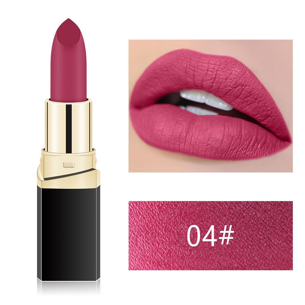 New luxury cream long wear multi-colored lip stick long lasting matte lipstick private label for women