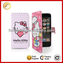 Hot sale lovely hello kitty mobile phone case for iPhone4