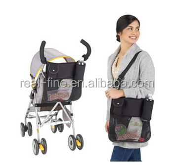 free shipping Baby stroller storage bag dual-use umbrella car cart glove nappy bag diaper bags