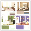 Environment friendly air purification living room wall anion home paint