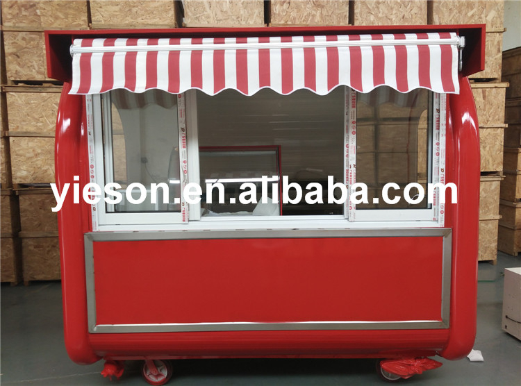 excellent chinese buffet car, fast food ice cream & chips & biscuit , travel trailer for mobile kitchen