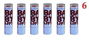 (Pack of 6) - Maybelline New York Baby Lips Moisturizing Lip Balm, 220 Cocoa Crush