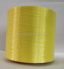 Industrial dope dyed polyester filament flat yarn