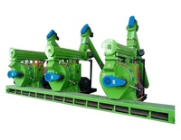 Made in China Wood Sawdust Pellet Making Line for sale