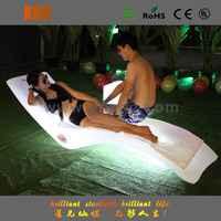 high quality low price plastic led glowed F3 sun chaise with waterproof IP56