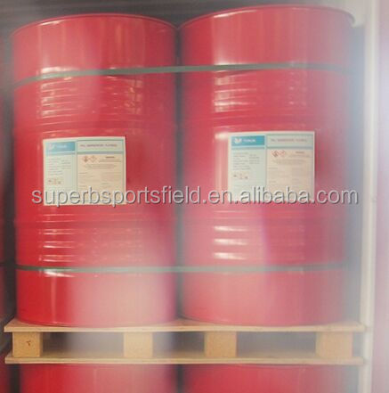 Single Component Polyurethan Chemical Adhesive Binder for Synthetic Athletic Running Track, Mix EPDM Rubber Granules
