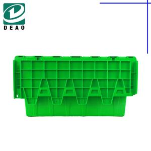 Household Solid Plastic Folding Crate