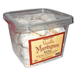Trader Joe's Vanilla Meringues Cookies (7.39 OZ Pack Of 2)