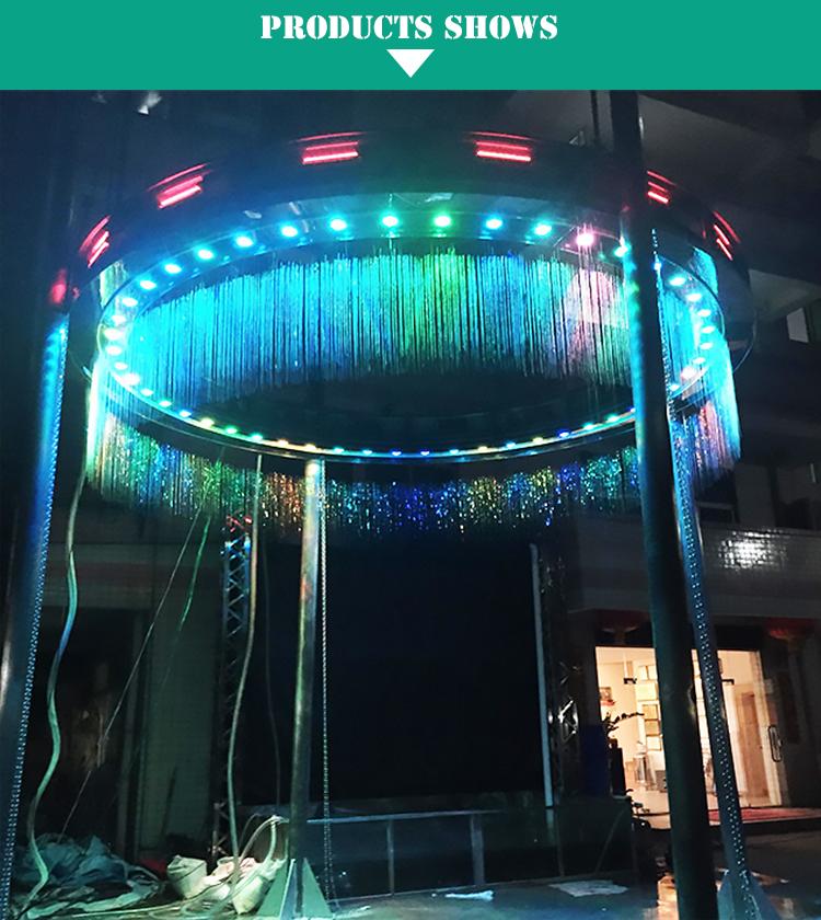 Shopping mall fountain digital Wall Waterfall Fountain line curtain