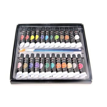 12ml New Amazon Top Quality Plastic Tube 24 Color Pack Acrylic Paint For Artist Buy Acrylic Paint 24 Color Acrylic Paint Best Selling Acrylic Paint
