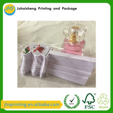 Disposable elegant design perfume scent paper test strips by factory