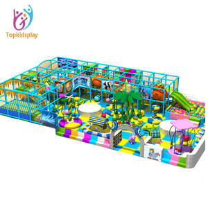 Commercial used plastic fasteners indoor playground slide for children