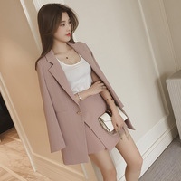 Latest trendy pattern ladies office wear women skirt suits casual ladies 3 piece suits