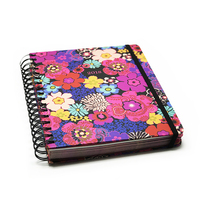 Factory direct cheap wire bound notebook printing services