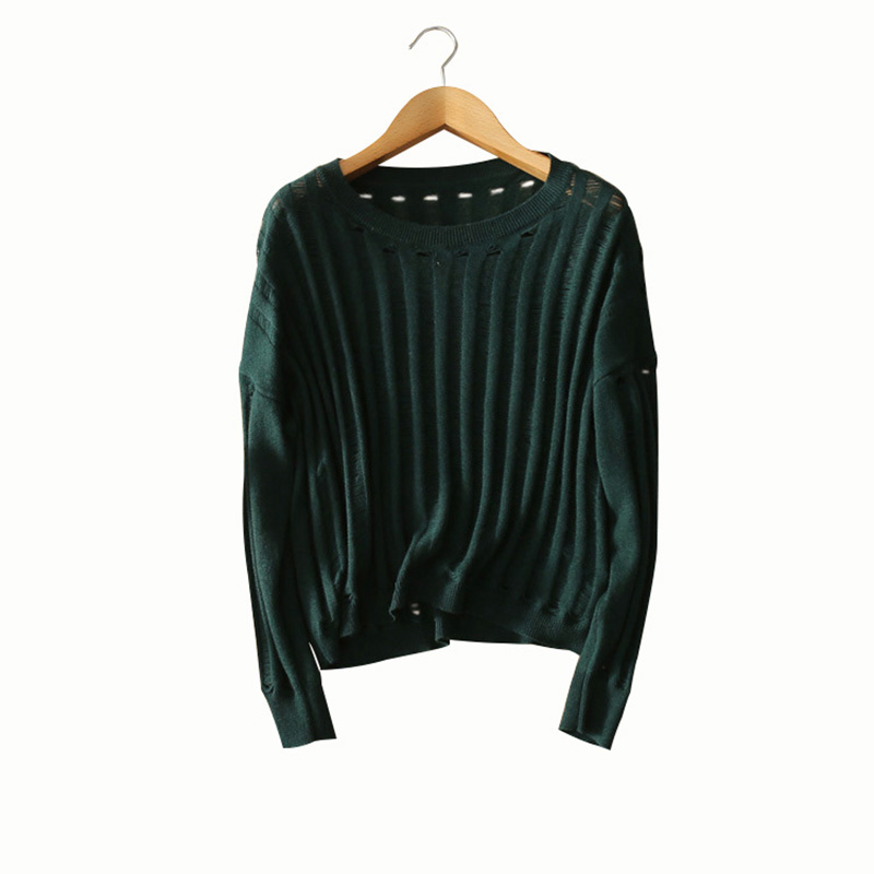 Halloween 100 cashmere knitting pullovers dark green back black skulls women s sweaters autumn font b