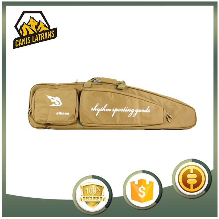 High Quality Best Price Black Paintball Military Airsoft Rifle Gun Case