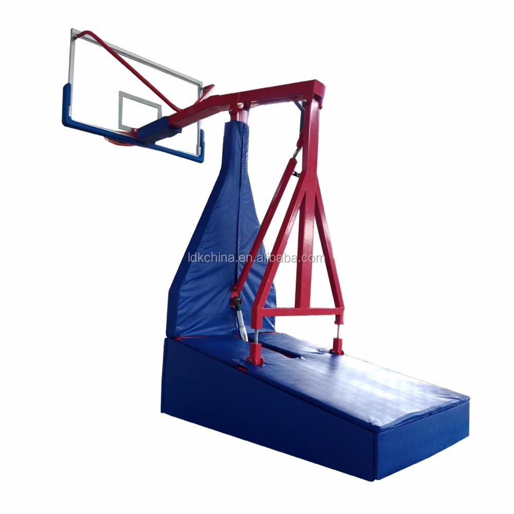 ard folding basketball backstop - 550×550