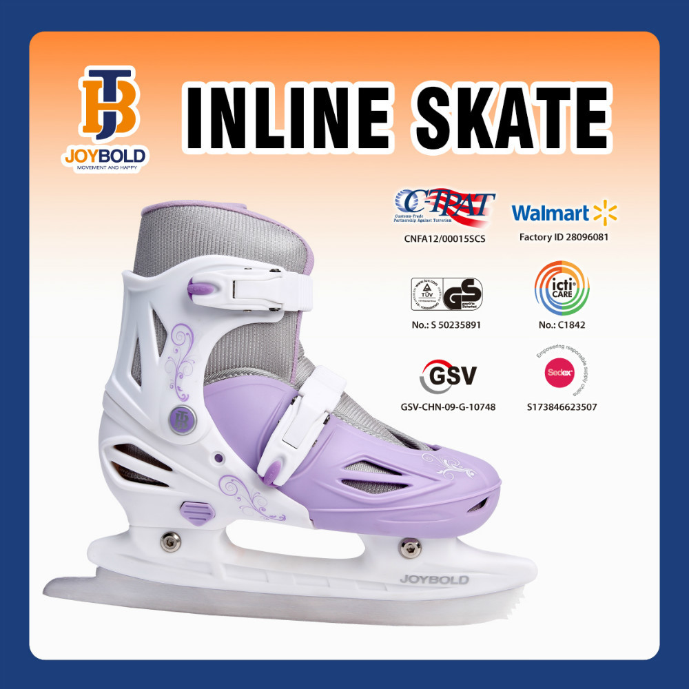 China Factory Sale Iceskates For Women And Children Safe And Beautiful JB1310 EN71 Approved