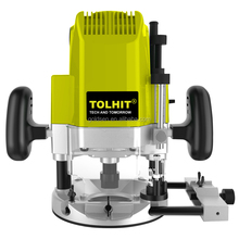 TOLHIT 6mm/8mm/12mm 1850 watt Holz Arbeits Tragbare Power Electric Industrial Holz <span class=keywords><strong>Router</strong></span>