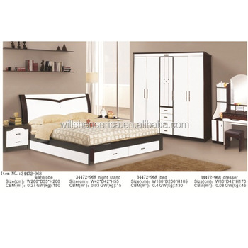 New Design 34472-968 5 Pieces Mdf White Bedroom Set - Buy Modern Bedroom  Sets,Classic Bedroom Sets,Bedroom Furniture Sets Product on Alibaba.com