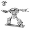 Wholesale 3D Metal Puzzles Robot Gundam Zaku ZUGOCK Jigsaws DIY New Year Gift Building Model Educational