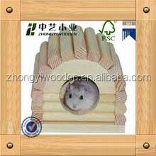 hot selling FSC&SA8000 Manufacturer natural_modern_outdoor_hamster_cage_wooden_hamsters for factory price sale