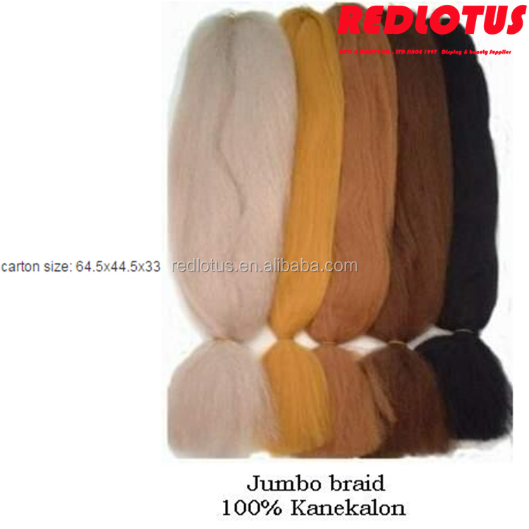 Two Tone Color natural braiding hair extensions