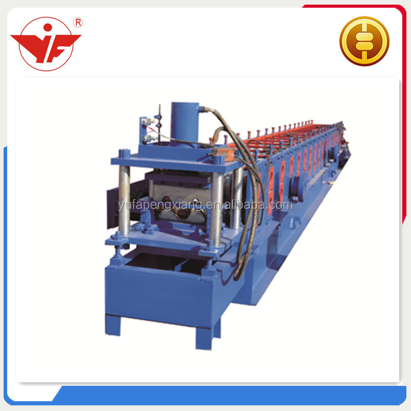 2 W beam highway guard rail expressway fence roll forming machine
