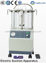 High vacuum and high flow Mobile electic electrical Suction surgical Machine unit equipment