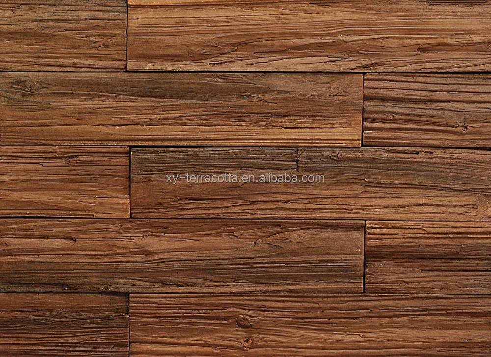 Dekorative Wandverkleidung Holz ~   wandverkleidung, dekorative holz stegplatten, antikem holz wand platte