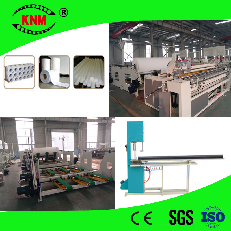 high speed automtic perforating and rewinding toilet paper machine