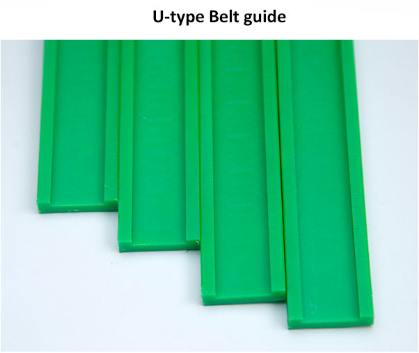 Excellent Wear Resistant UHMWPE Guide Rail Factory Supply Plastic Guide Rail