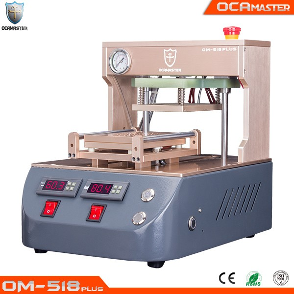 Updated version OM-518 Plus LCD Frame Laminating Machine for iPhone Samsung