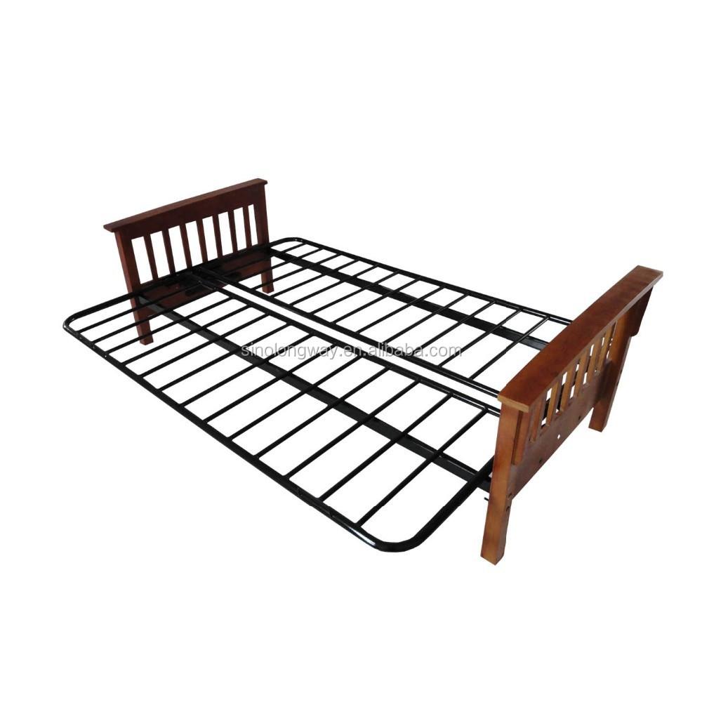 Plegadora de metal sof225 cama cum con riel de madera Sof225  : metal folding sofa cum bed with wood from spanish.alibaba.com size 1000 x 1000 jpeg 92kB