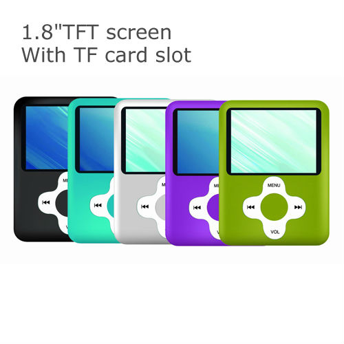 1.8 inch best brand new mp4 players with TF card slot