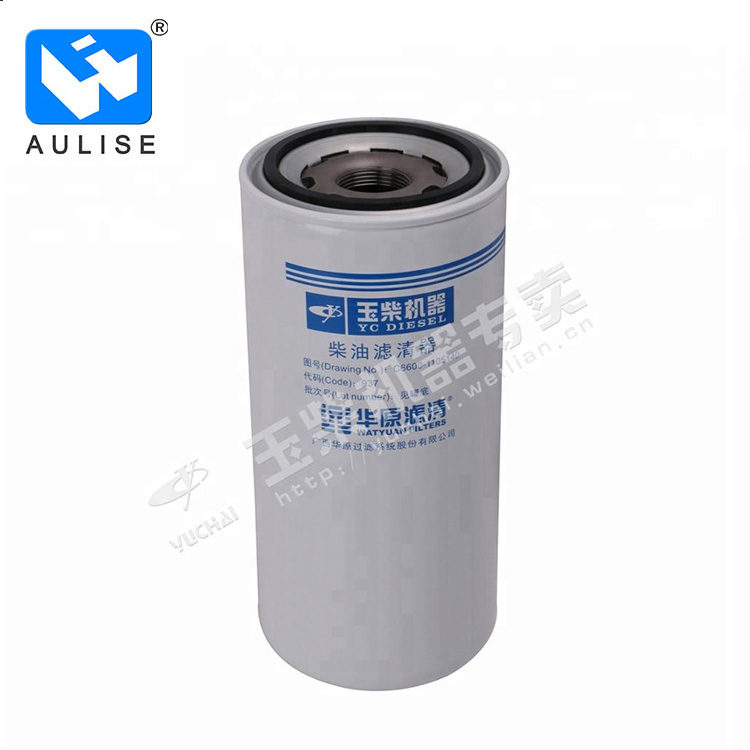 Original Yuchai engine parts C6600-1105140 Fuel Filter Core Assembly for auto truck