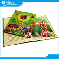 Promotional children hardcover book printing with best price