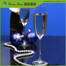 Handblown model champagne glass clear glassware supplier