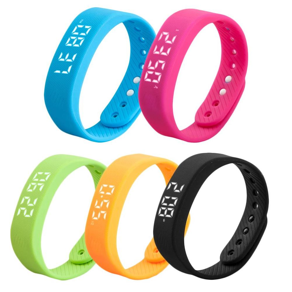 3D LED Display Sports Gauge Fitness Bracelet Smart Step Tracker Pedometer new arrival, Multi