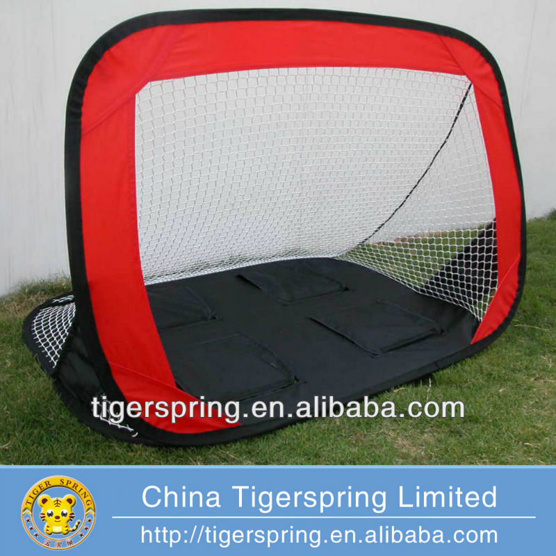 Hot sale kids pop up soccer goal tent