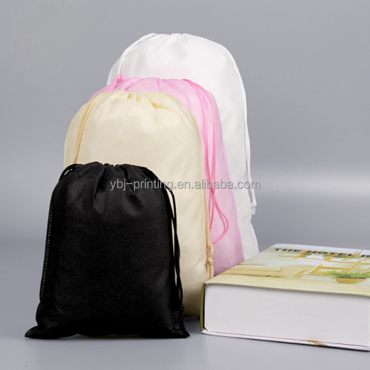20*27cm colorful laminated non woven <strong>tote</strong> bag for shopping/clothes packaging bag with rope