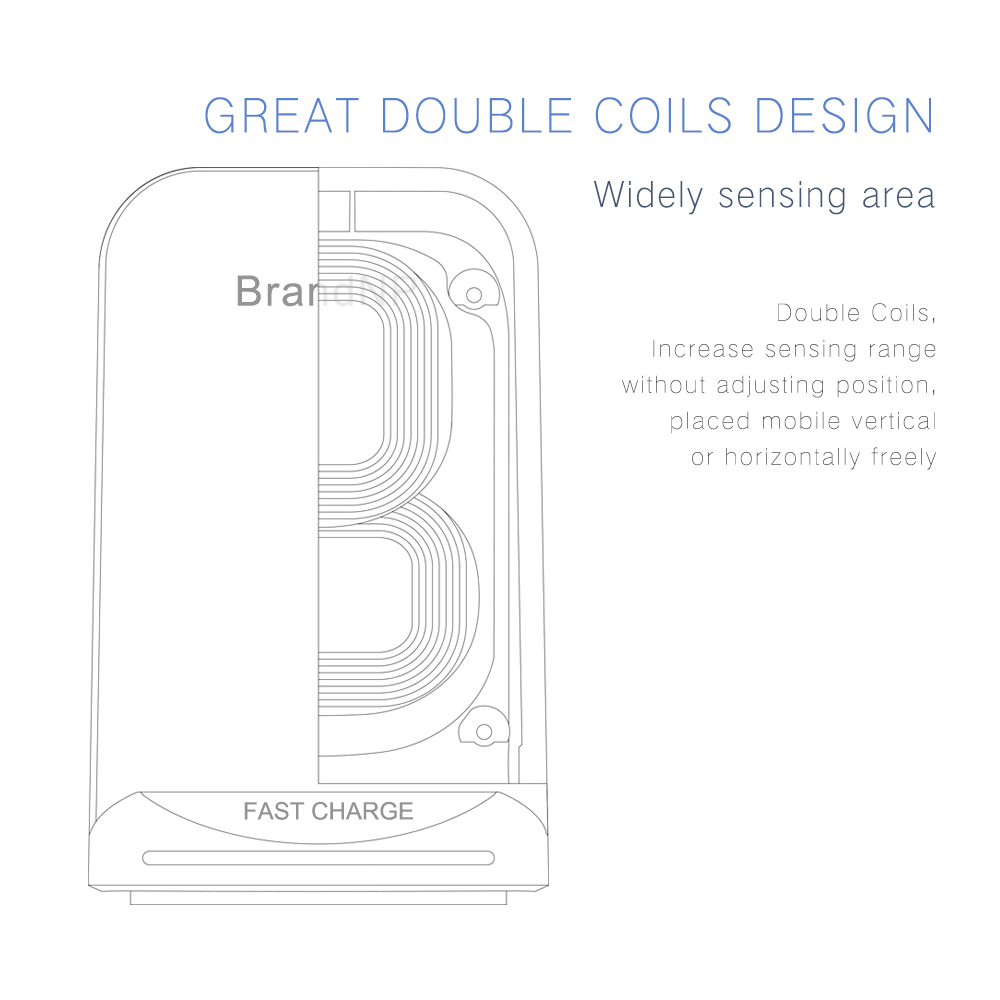new products 2018 10w wireless charger fast charge wireless charging stand