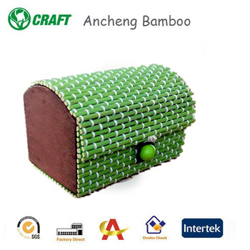 designer presentation gift boxes in bamboo material