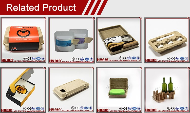 High Quality Environmental Protection Pulp Packaging Box