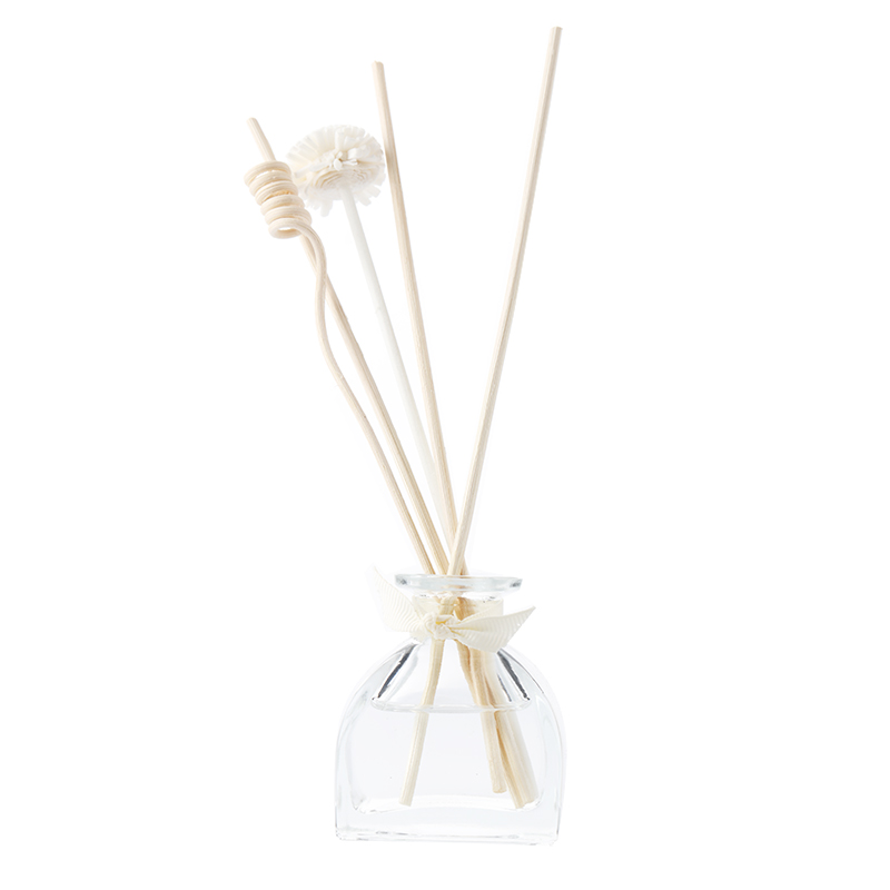 Eco-friendly Glass Bottle Natural Aroma Scented Essential Oil Reed Diffusers