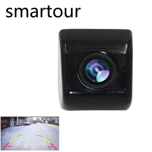 Smartour Car reversing camera Korean screw HD night vision CCD waterproof backup rear view video auto reverse camera