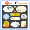 special shape promotional cartoon permanent self adhesive stickers