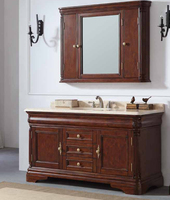 Wall mounted corner bathroom mirror cabinet india price high quality