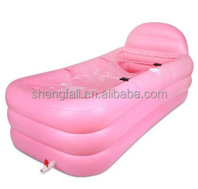 China manufacture inflatable plastic bathtub, large swim spa